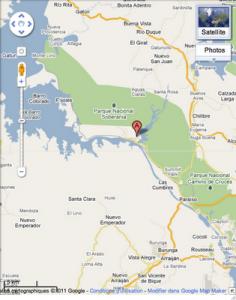 Localisation géographique de Gamboa, et de la station de recherche du STRI