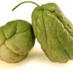 Fruits de choucou (Sechium edule)