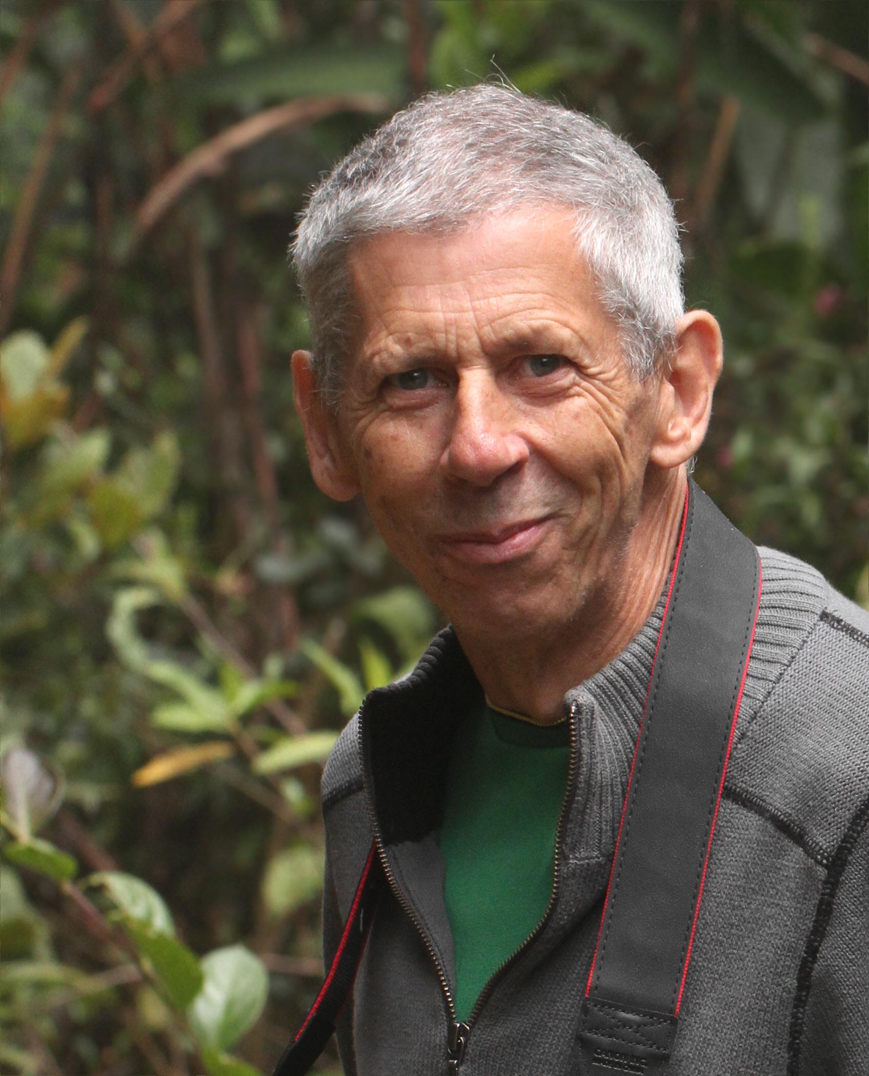 Adrian Hoskins, célèbre lépidoptériste anglais (Source : Adrian Hoskins)