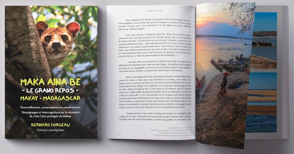 Maka Aina Be, «Le grand repos» : Bernard Forgeau nous raconte le Makay