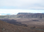 Panorama du sommet du volcan