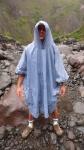 Moi prêt pour traverser la rivière