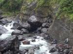 Traversée de la rivière des Galets